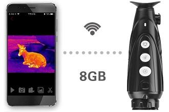 Встроенный видеорекордер и Wi-Fi соединение в iRay Xeye 2 E3 Plus